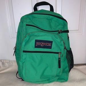 Green Jansport Backpack